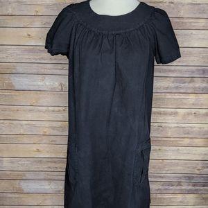 A.L.C Mini Shirt Cotton Dress Casual Cap Sleeve